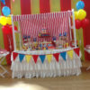 Kids birthday party candy table